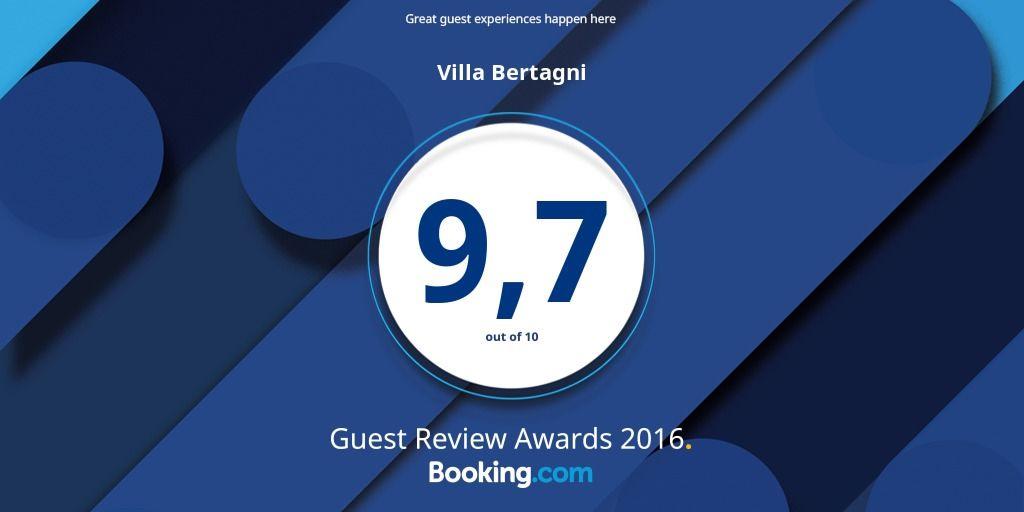 VILLA BERTAGNI GUEST REVIEW AWARDS 2016